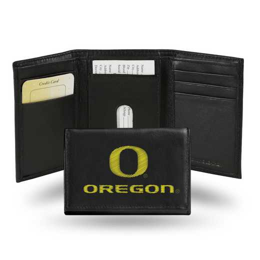 RTR510102: NCAA RTR Trifold Wallet, Oregon