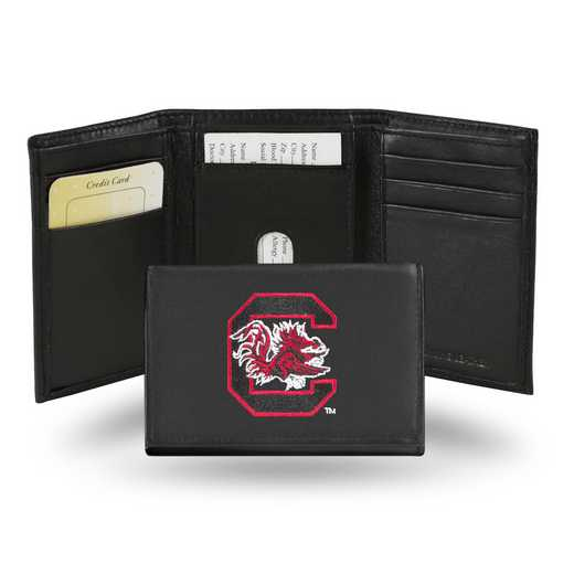 RTR120101: NCAA RTR Trifold Wallet, S Carolina