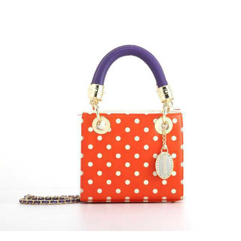 H150330-12-OR-W-RP: Jacqui Small Satchel OR-W-RP