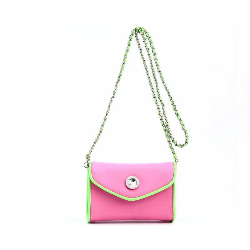 H150330-11-APK-LMGR: Eva Clutch Handbag  APK/LMGR