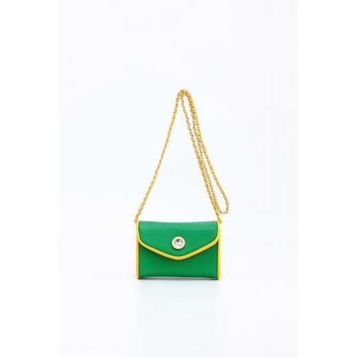 H150330-11-FRNGR-YGO: Eva Clutch Handbag  FRNGR-YGO