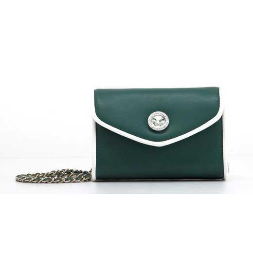 H150330-11-FSTGR-W: Eva Clutch Handbag  FSTGR-W