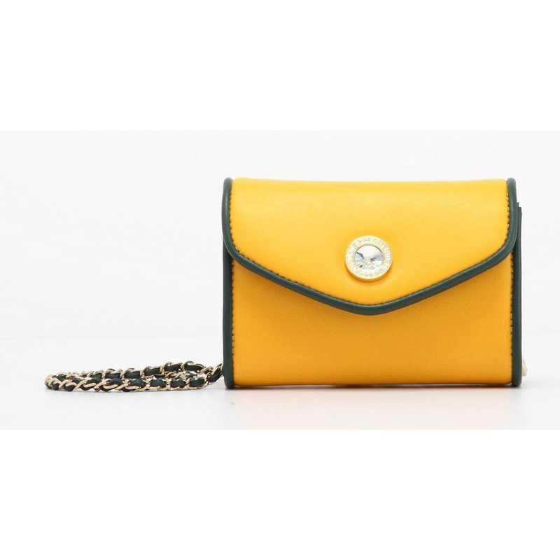 H150330-11-FSTGR-YGO: Eva Clutch Handbag  FSTGR/YGO