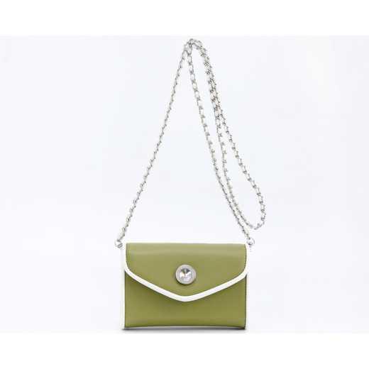 H150330-11-OLGR-W: Eva Clutch Handbag  OLGR-W