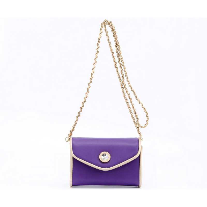 H150330-11-RP-GO: Eva Clutch Handbag  RP/GO