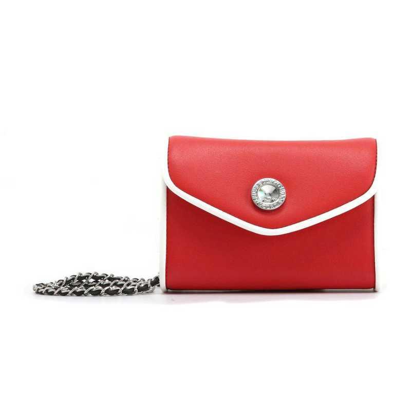 H150330-11-RR-W: Eva Clutch Handbag  RR/W