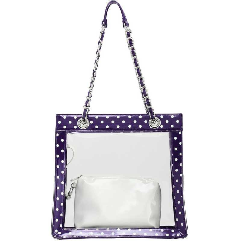 H150330-17-RP-W: Andrea Clear Tailgate Tote -RP-W