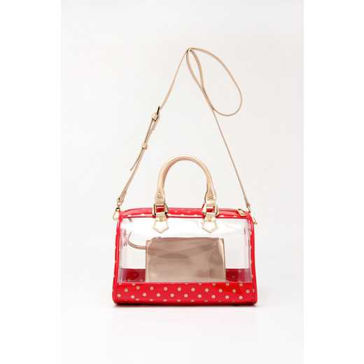 H160426-11-RR-GO: Moniqua Clear Satchel RR-GO