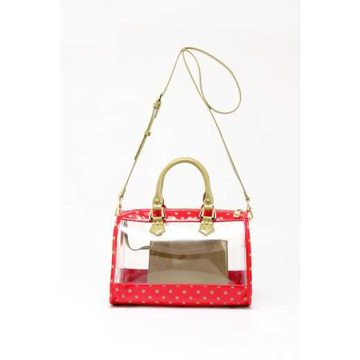 H160426-11-RR-OLGR: Moniqua Clear Satchel RR-OLGR