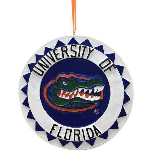 DLO007: Florida GATORS 3D LOGO orn