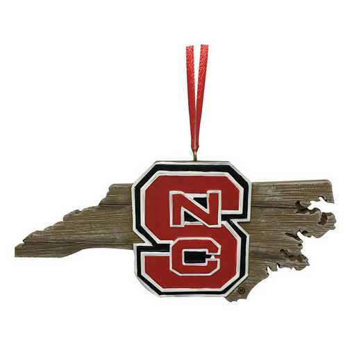 MOC020: NC STATE 4IN TO 5IN MAP orn