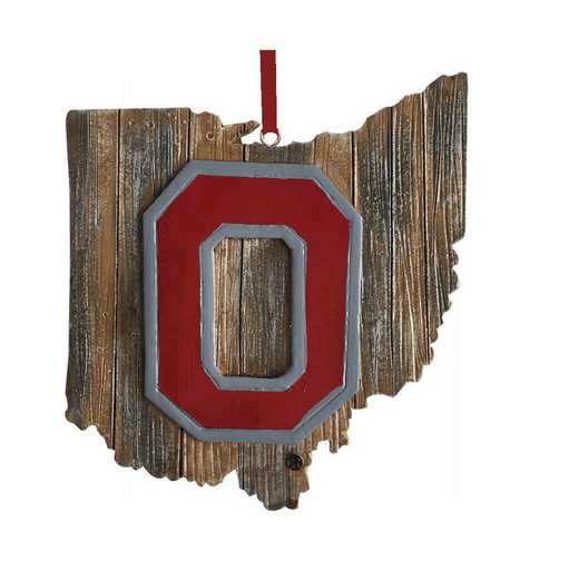 MOC021: Ohio State 4IN TO 5IN MAP orn