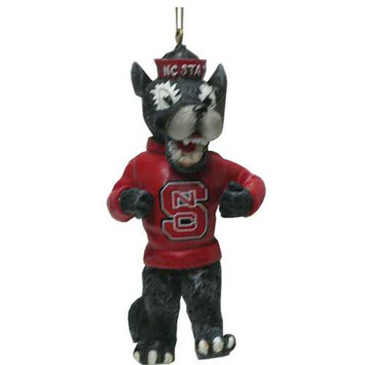 MOR020: NC STATE 4IN RESIN MASCOT orn