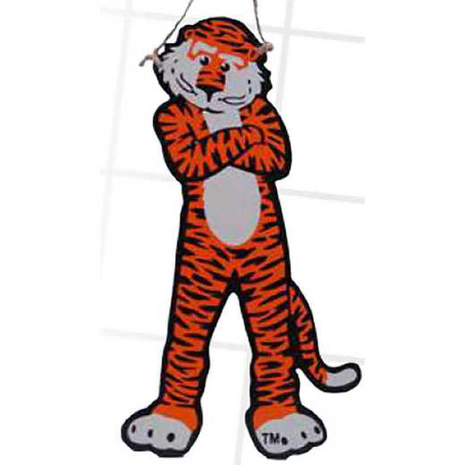 MWO003: Auburn MASCOT 7IN TO 10IN RANGE MDF  orn