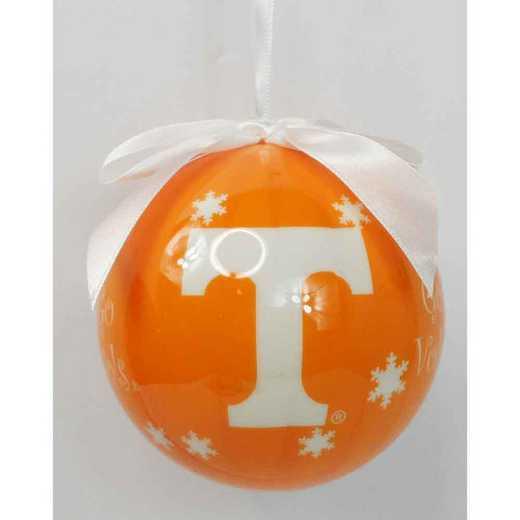 SFO026: Tennessee SNOWFLAKE BALL orn