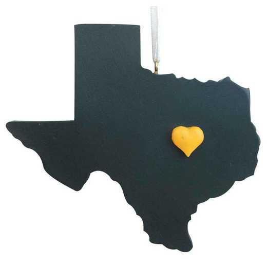 SRO004: WACO HEART orn