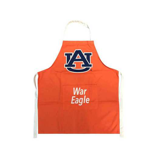 LPA003: AUBURN TIGERS SCREEN PRINTED POLYESTER APRON