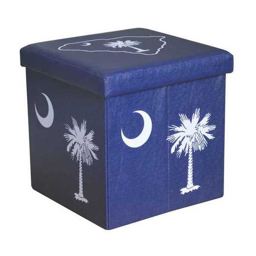OTSPALM: PALMETTO SMALL STORAGE OTTOMAN