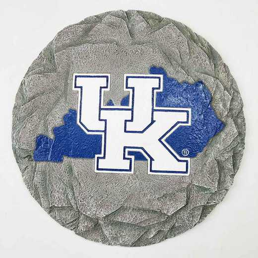 SMS012: KENTUCKY WILDCATS 13IN RESIN STATE MAP STEPPING STONE
