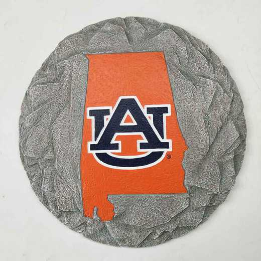SMS003: AUBURN TIGERS 13IN RESIN STATE MAP STEPPING STONE