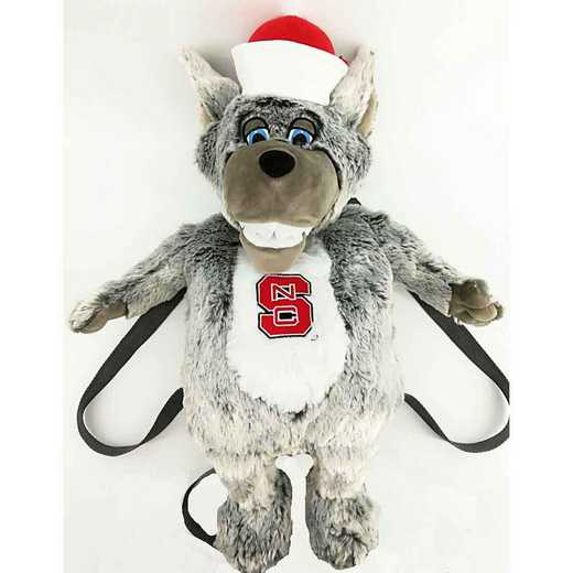 NCSPAK: NC STATE PLUSH MASCOT BACK PACK
