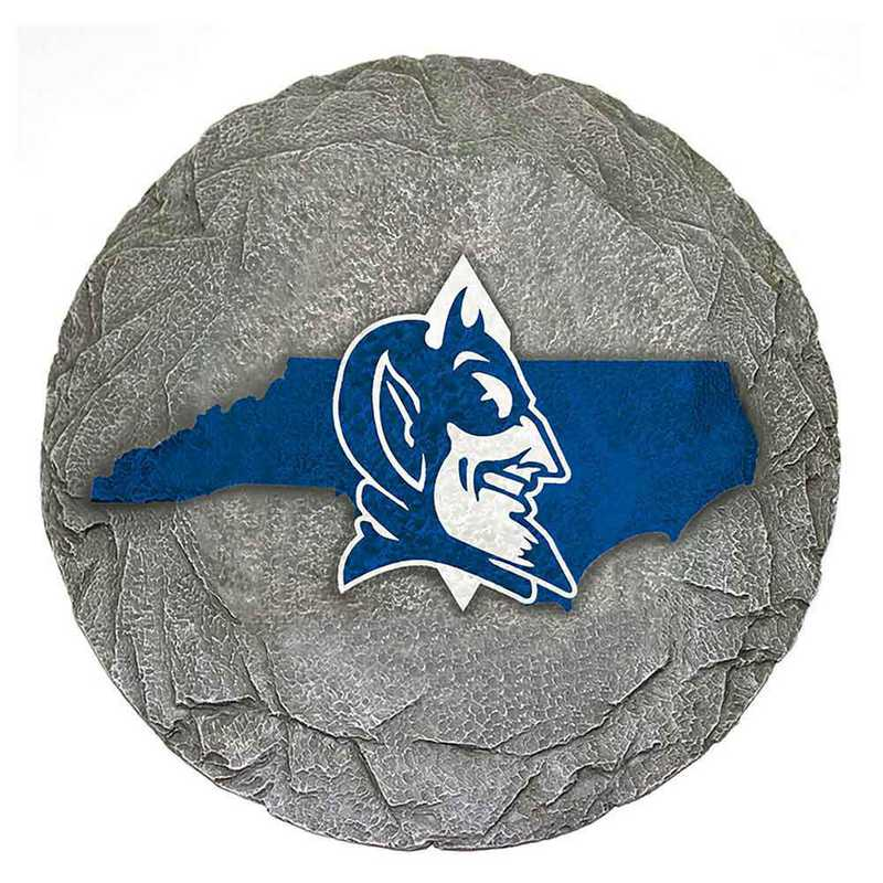 SMS006: DUKE BLUE DEVILS 13IN RESIN STATE MAP STEPPING STONE