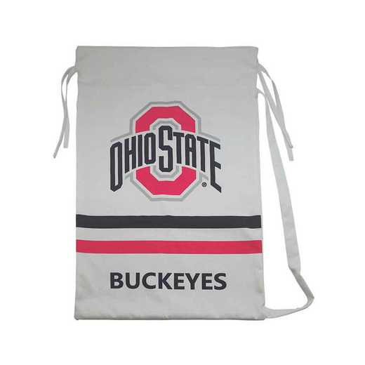 MLB021: OHIO STATE BUCKEYES MASCOT 20INX30IN LAUNDRY BAG W/STRAP