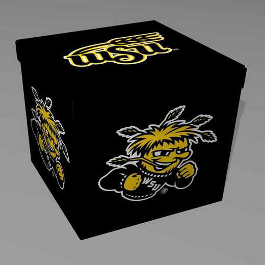 OTS060: WICHITA STATE SMALL OTTOMAN
