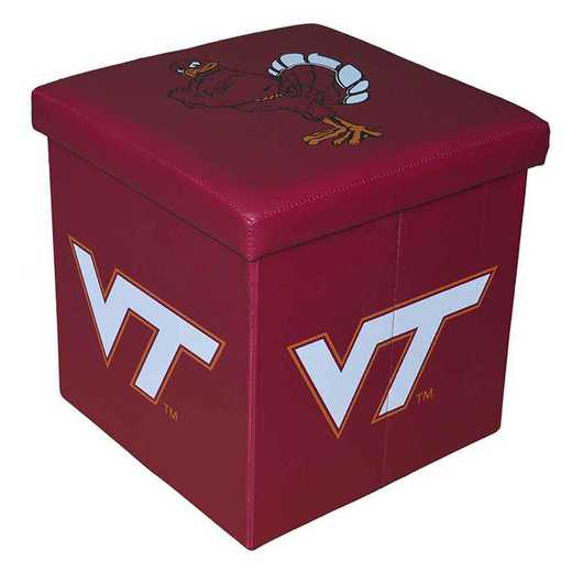 OTS062: VIRGINIA TECHSMALL OTTOMAN