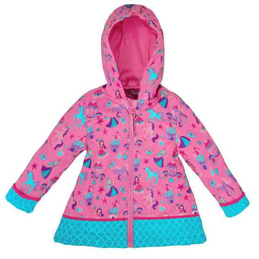 Stephen Joseph Princess All-Over Print Raincoat