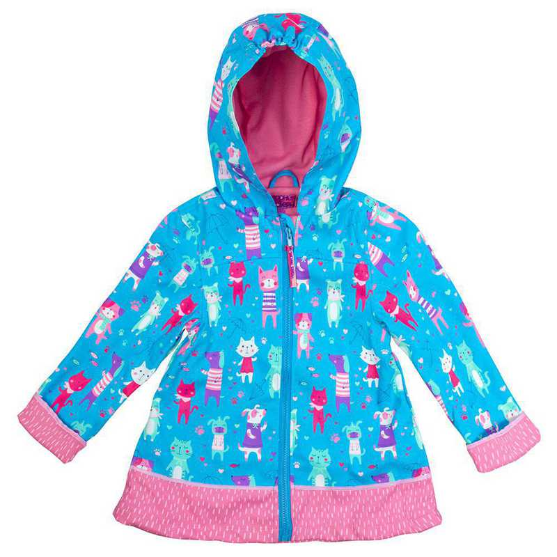 Stephen Joseph Cat and Dogs All-Over Print Raincoat