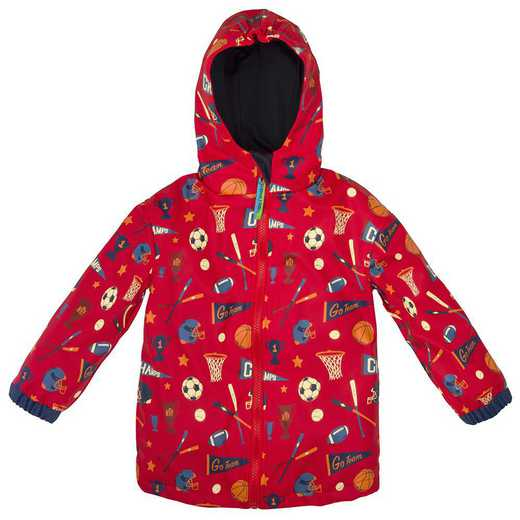 Stephen Joseph Sports All-Over Print Raincoat