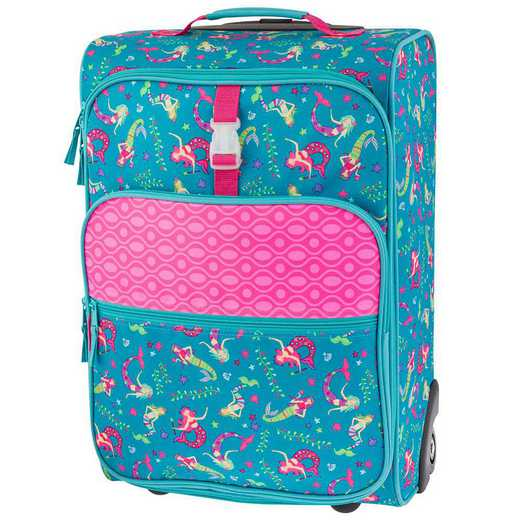 SJ115228: SJ  ALL OVER PRINT ROLLING LUGGAGE MERMAID
