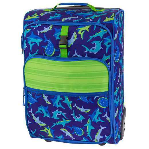 SJ115280: SJ  ALL OVER PRINT ROLLING LUGGAGE SHARK