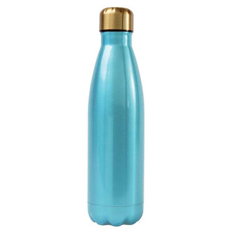 AA3001BLU: Alex Co SS WATER BOTTLE  BLUE (F16)