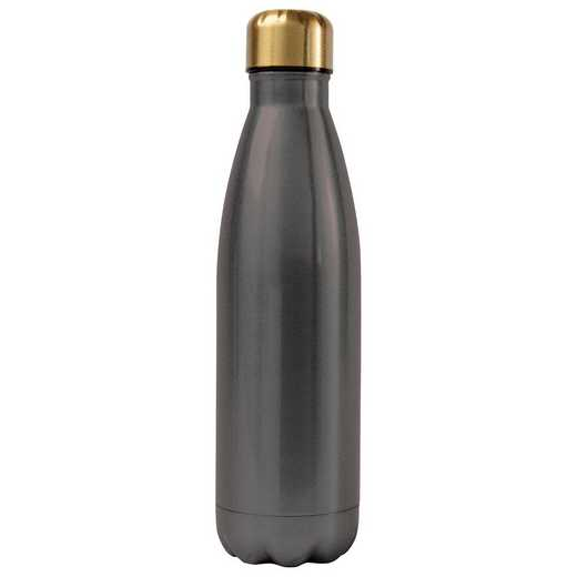 AA3001CHA: Alex Co SS WATER BOTTLE  CHARCOAL  (F16)