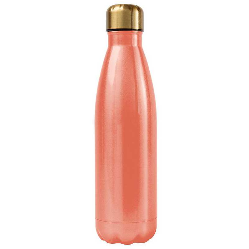 AA3001COR: Alex Co SS WATER BOTTLE  CORAL (F16)