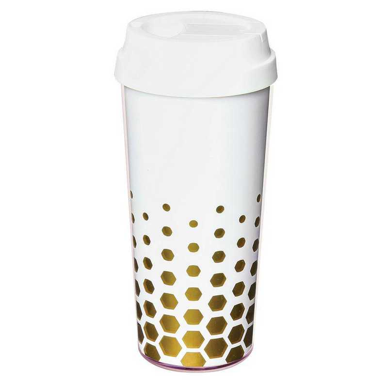 AA3001WHI: Alex Co SS WATER BOTTLE  WHITE (F16)