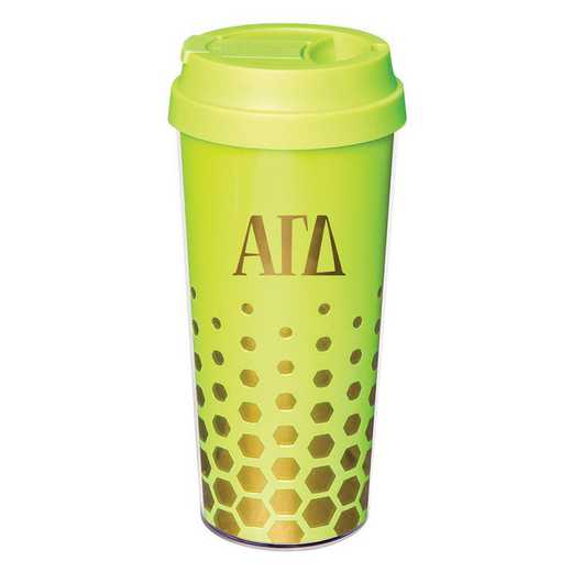AA3002AGD: Alex Co COFFEE TUMBLER ALPHA GAMMA DELTA (F16)