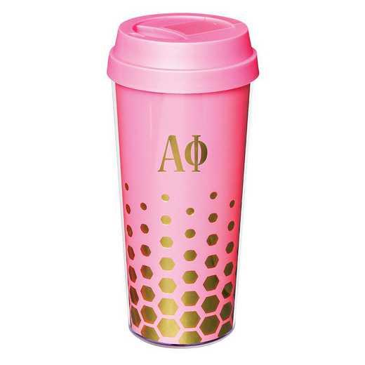 AA3002AP: Alex Co COFFEE TUMBLER ALPHA PHI (F16)