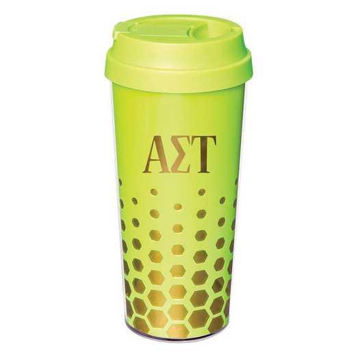 AA3002AST: Alex Co COFFEE TUMBLER ALPHA SIGMA TAU (F16)