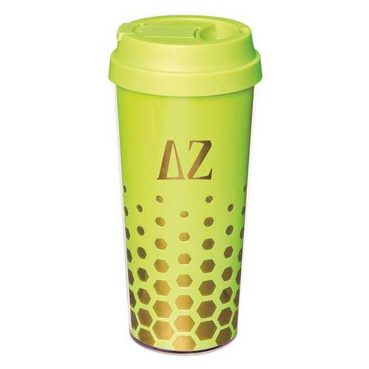 AA3002DZ: Alex Co COFFEE TUMBLER  DELTA ZETA (F16)
