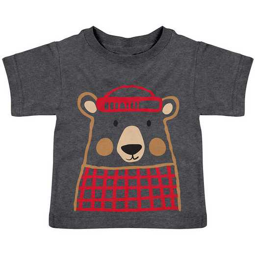 Stephen Joseph Bear Heathered Shirt