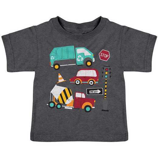 Stephen Joseph Transportation Heathered Shirt