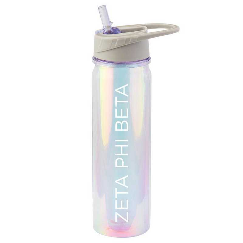 AA3023ZPB: Alex Co IRIDESCENT BOTTLE  ZETA PHI BETA (F18)