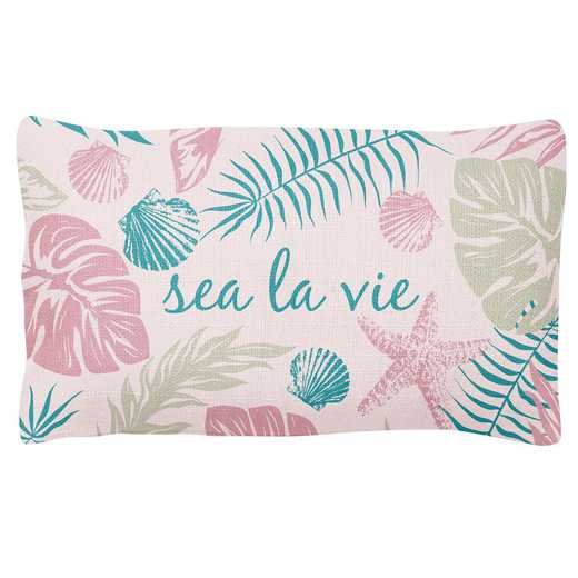 KA302184: Karma LUMBAR PILLOW PINK TROPICAL (S19)