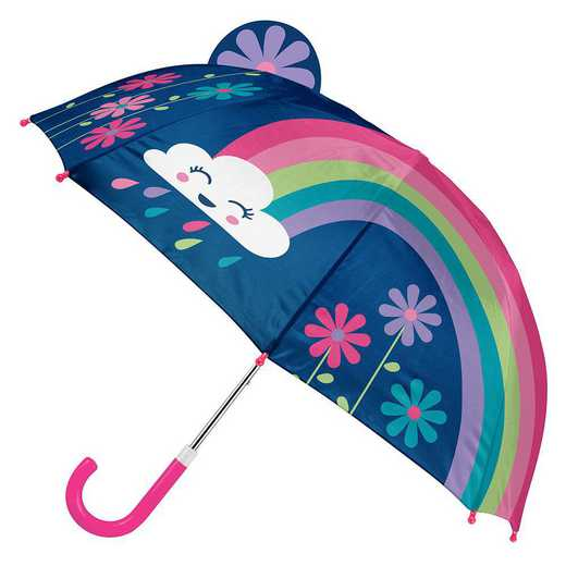 SJ104618: SJ  POP UP UMBRELLA RAINBOW