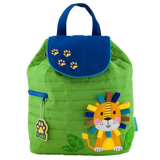 SJ100177: SJ  Quilted BackpackLION