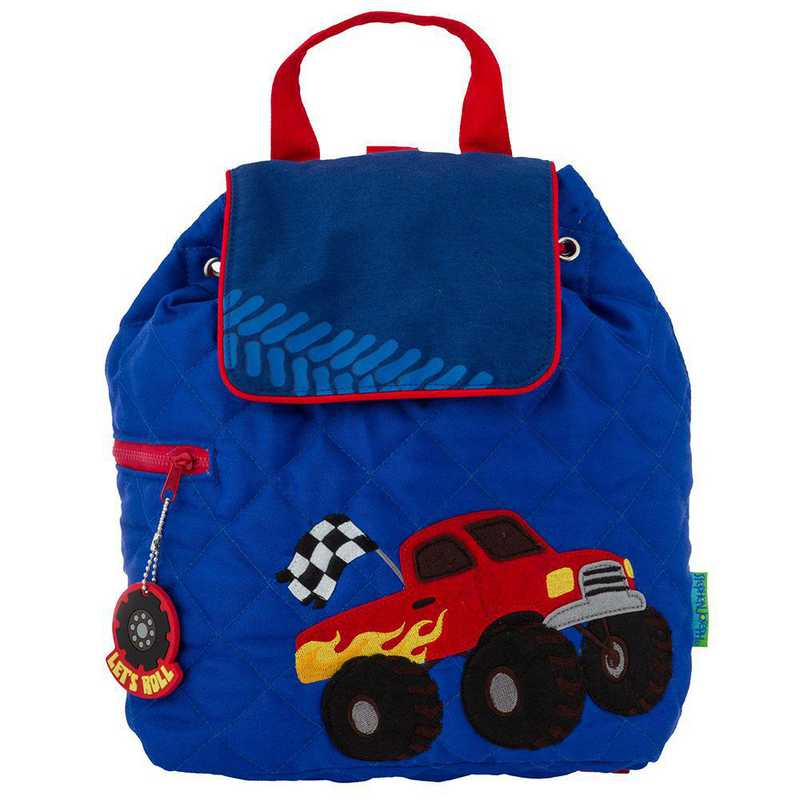 SJ100189A: SJ  Quilted Backpack TRUCK