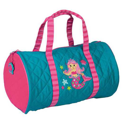SJ830128: SJ  QUILTED DUFFLE  MERMAID